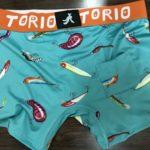 釣り人へのプレゼントに超オススメ、TORIOのちょっぴりエッチでポップなボクサーパンツ