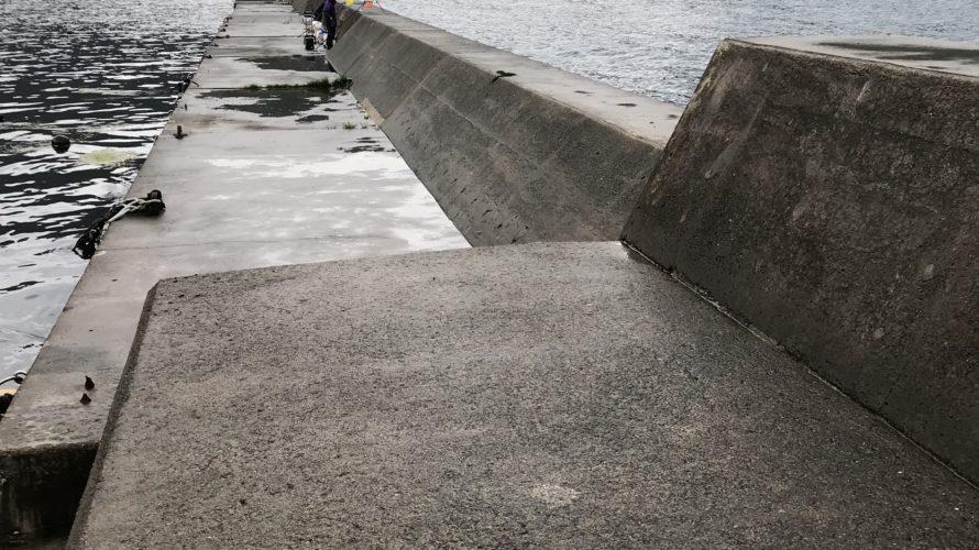 神子漁港の釣り場紹介、福井県常神半島のエギングポイント、オススメの本格深場堤防