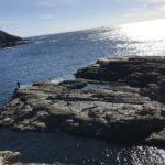 秋冬のエギングにオススメ!北風と北ウネリに強い白浜のエギングポイント、市江崎地磯の釣り場紹介