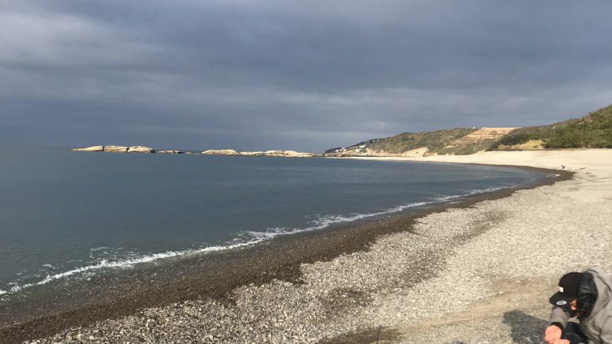 和歌山南紀白浜の富田浜の釣り場紹介、ナブラ待ちショアジギングにおすすめのサーフ
