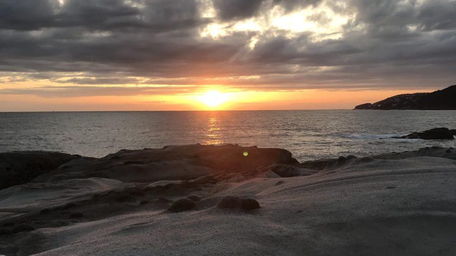 和歌山南紀白浜のエギング・ショアジギングポイント大間磯の釣り場紹介