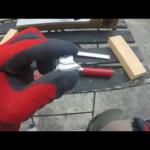 エギの自作!!自作でシンカーを作る方法②(型に鉛合金を流し込んで磨く)