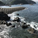 和歌山県有田の手軽な足場の良いエギングポイント田村の堤防